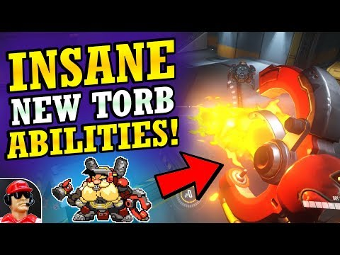 NEW TORBJORN! - Full Rework Abilities & Details! (Overwatch News)