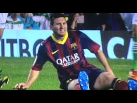 Lionel Messi Injury 2013