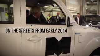 Boris Johnson Meets New Metrocab Taxi