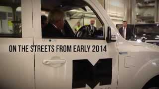 Boris Johnson Meets New Metrocab Taxi