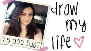 DRAW MY LIFE - LaurenzSide (25,000 Subscriber Special)