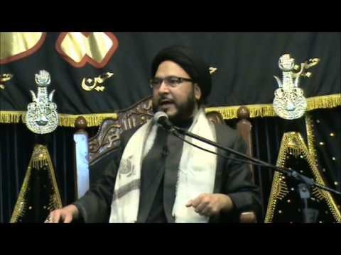 8th Muharram Maulana Uroojul Hassan Mesum : Sakina Trust 1435