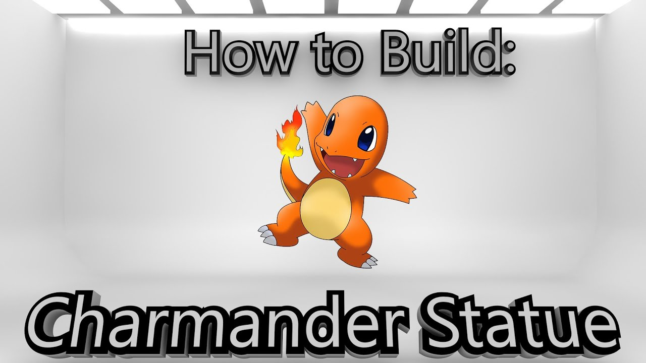 how to make a 3d charmander in minecraft