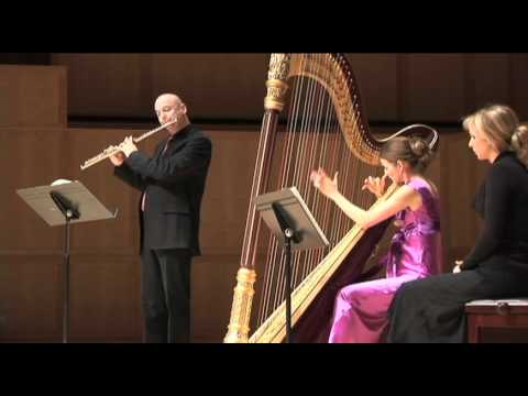Piazzolla-Bordel 1900-History of Tango-Thomas Robertello, flute, Maria Luisa Rayan-Forero, harp