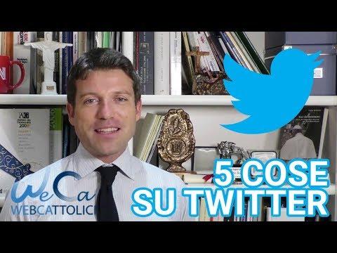 Le prime cinque cose da sapere su Twitter #tutorialweca