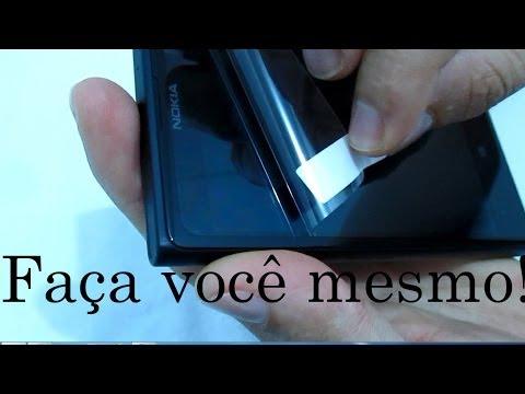 #DICA 2 - Colocar Película Protetora no Celular Smatphone Linha Nokia Lumia