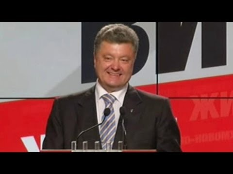 Ukraine Elections:  Chocolate King Becomes President