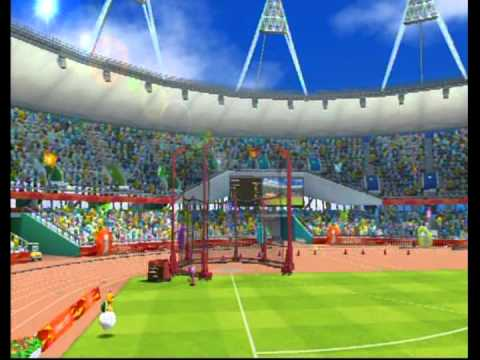 Mario & Sonic at the London 2012 Olympic Games (Nintendo Wii) - All Events; Part 1: Athletics