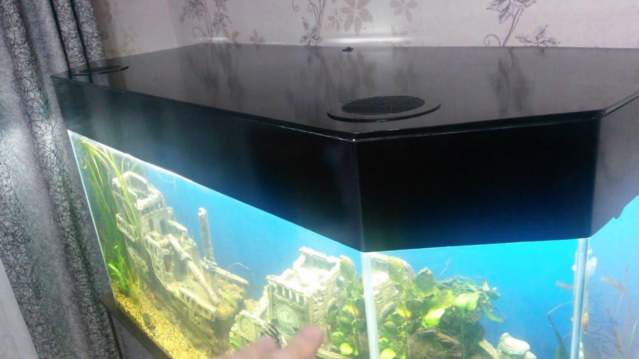 Сделай сам своими руками стойка для аквариума7