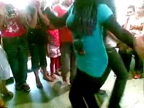 رقص محجبة  - bnat facebook