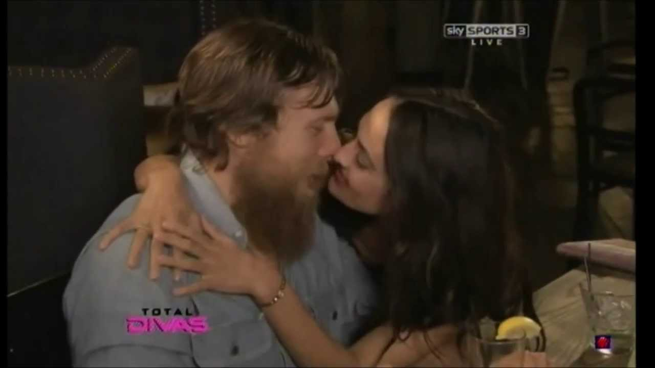 Brie Bella Hot Kiss