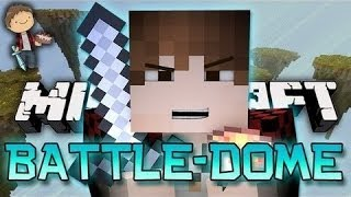Minecraft: BATTLE-DOME w/Mitch & Friends Part 1 - HOW TO LEVEL 8 ENCHANT!