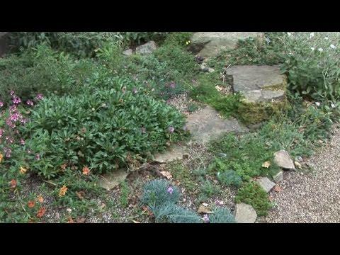 How to create a rock and scree garden youtube for Creating a rock garden