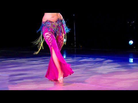 Belly Dance How to: Hip Shimmy Move - Belly Dancing - with Neon