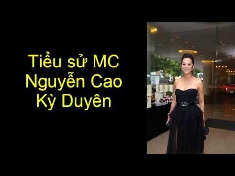 Tiểu sử MC Nguyễn Cao Kỳ Duyên || Hoa Hậu