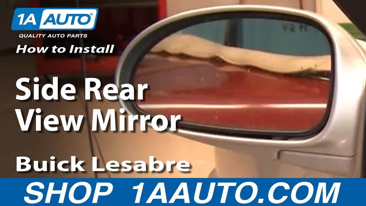 How To Install Repair Replace Broken Side Rear View Mirror