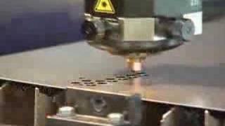 Lazerle metal kesimi