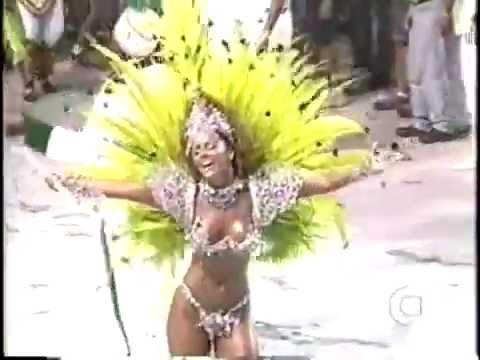 Viviane Araujo - Mocidade 2002 - Rainha de Bateria