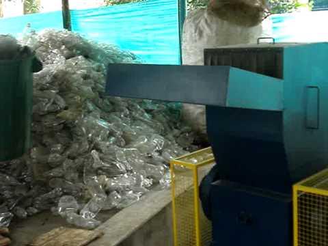 maquinaria para reciclaje plastico