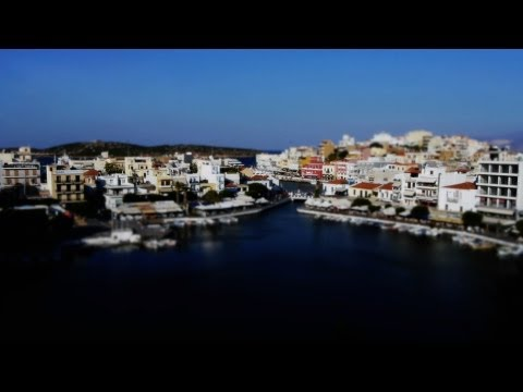 Cute Creta - Tilt-shift time-lapse