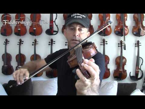 Tuning Your Violin Using the Pegs While Playing