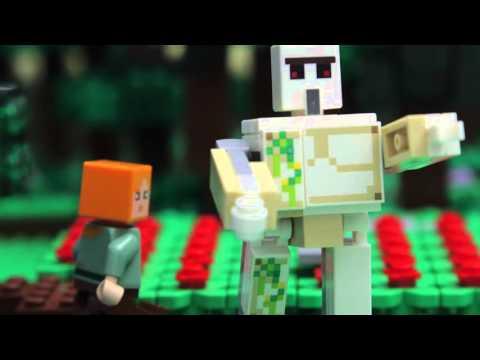 Lego Minecraft príbehy - Go go golem