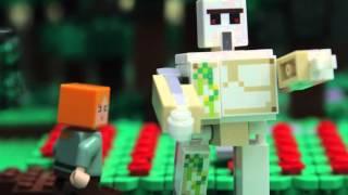 Lego Minecraft pr�behy - Go go golem