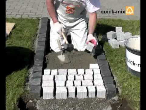 Qiuck-Mix - TDM Trasowo-cementowa,drenażowa zaprawa podkładowa