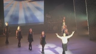 Riverdance Lead Dancer James Greenan  talks to Áine Duffy in The Gaiety Theatre