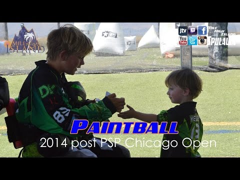 Paintball: Post 2014 PSP Chicago interviews & some practice footage