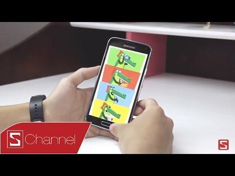 Giới thiệu chế độ dành cho trẻ em trên Galaxy S5