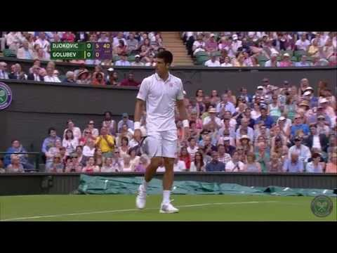 Highlights Day 1: Djokovic cruises v Golubev - Wimbledon 2014