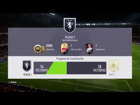 Fifa18 jugando Fut Champion