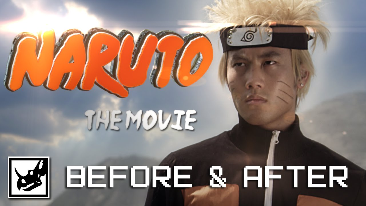 proses pembuatan video naruto the movie not real but so funny XD