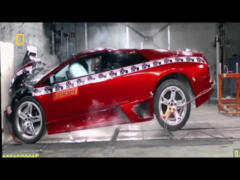 Lamborghini Murcielago Crash Test 720p