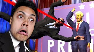 SAVING THE PRESIDENT DONALD TRUMP FROM ASSASSINATION (Mr President Game)
