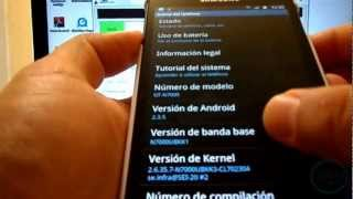 [How To] Rom Flasheable Para Galaxy Note (N7000): Primer