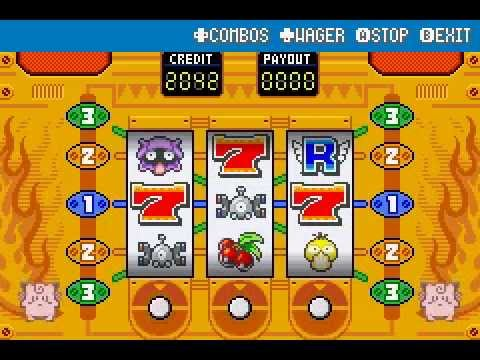 Celadon slot machines leafgreen
