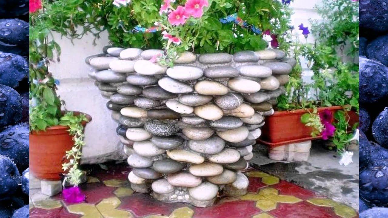 Из камня поделки дизайн
