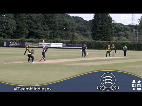 Middlesex 2nd XI v Gloucestershire 2nd XI - SET Match Action (07July2016)