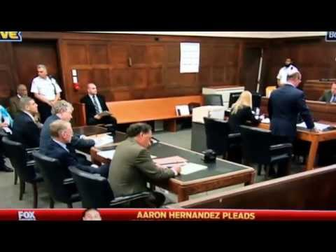 Aaron Hernandez Arraignment on 2012 Double-Homicide (Pleads Not Guilty)