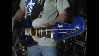 2000 Fender Squier Stagemaster 7 String Guitar Review