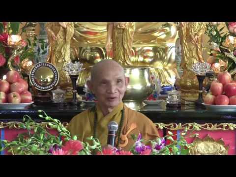Công Đức Niệm Phật (2014) phần 1 - Bài giảng thầy Thích Giác Hạnh