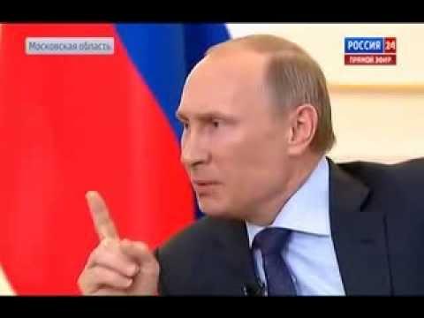 Putin Says He Will Use Human Shields: