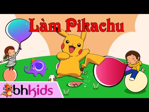 Bong Bóng Nghệ Thuật - Làm Pikachu Bằng Bóng Bay