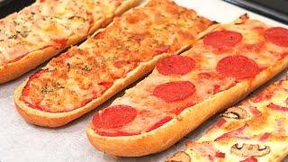 Pizzas fáciles y rápidas de hacer con Pan