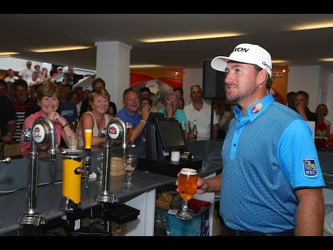 Sharing a Pint with Graeme McDowell at The 2014 Open Championship (21+)