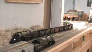 N&W / U.P. Proto 2000 2-8-8-2 Mallet's On The Layout HO