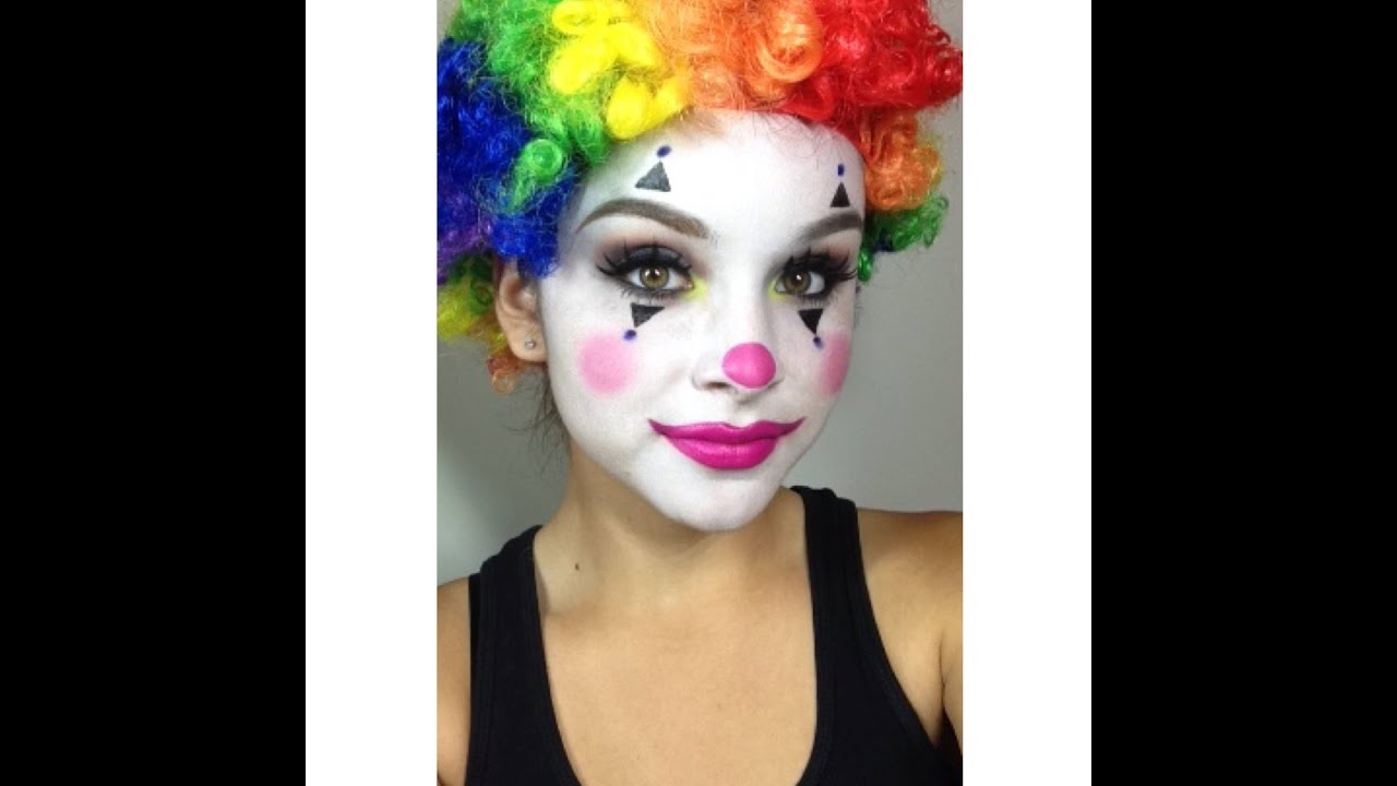 maxresdefault jpgHappy Clown Faces Makeup