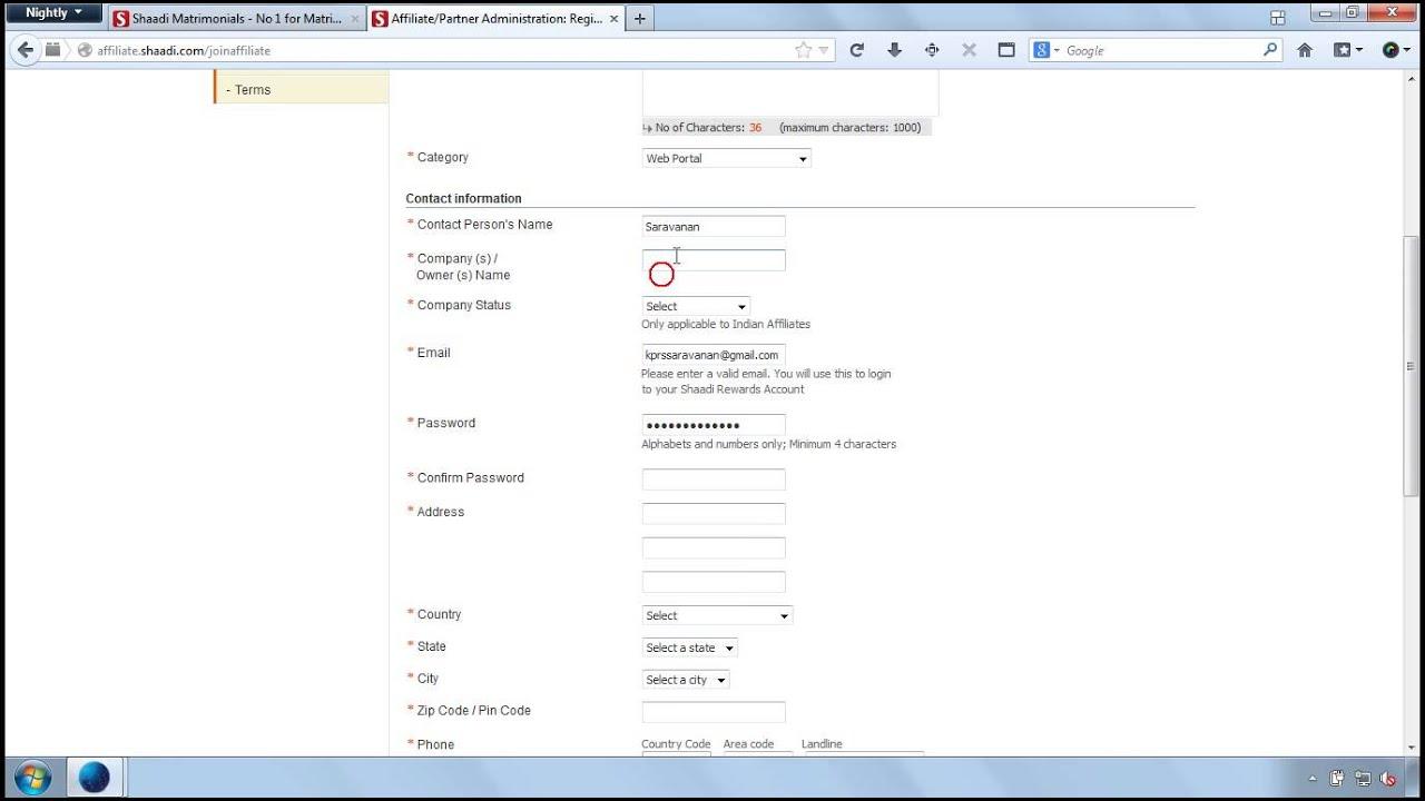 how to delete shaadi account